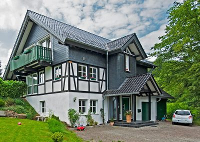 ökologischer Holzhaus Bau