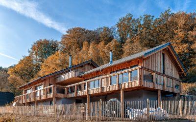 Holzhaus am Hang bauen