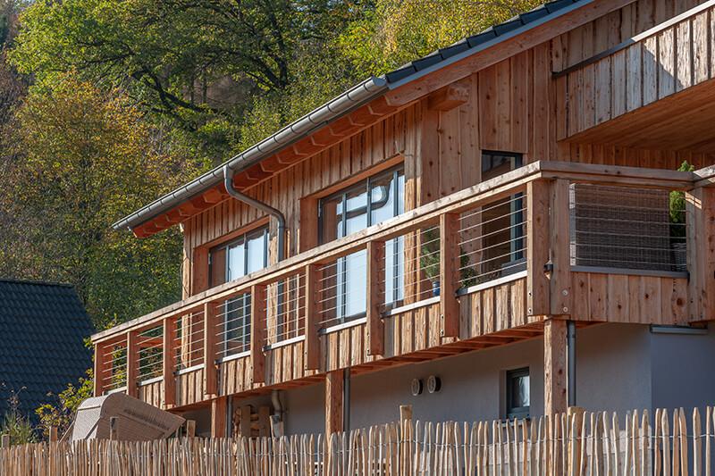 Holzhaus von Schwirten und Klein