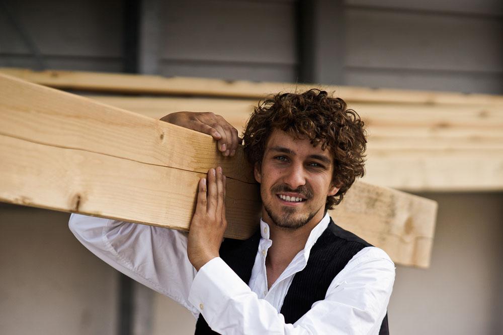 Holz macht glücklich